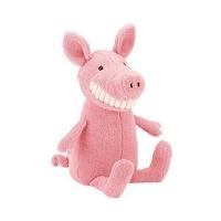 Jellycat大号龇牙小猪